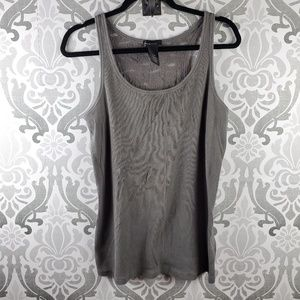 Lane Bryant lace back tank